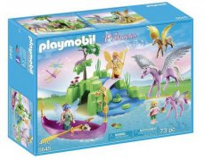 Playmobil Princess 5645 - Fairy Boat Fairy Island World Pegasus