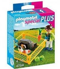 Playmobil Special Plus 4794 - Girl with Guinea Pigs