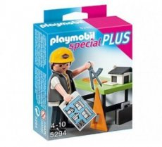 Playmobil Special Plus 5294 - Architect with Design Plan Table