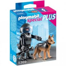 Playmobil Special Plus 5369 - Tactical Police Dog Unit
