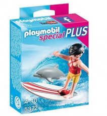 Playmobil Special Plus 5372 - Surfer with Surf Board and Dolphin
