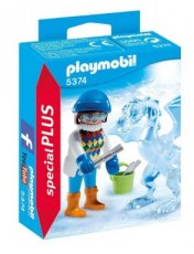 Playmobil Special Plus 5374 - Girl with Ice Sculptor