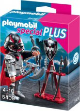 Playmobil Special Plus 5409 - Knight with Weapon Stand