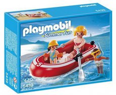 Playmobil Summer Fun 5439 - Swimmers with Raft Set