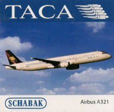 Taca Airbus A321 1/600 scale model Schabak