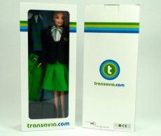 Transavia Airlines Holland Flight Attendant Stewardess Doll